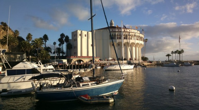 Yachting to Santa Catalina Island