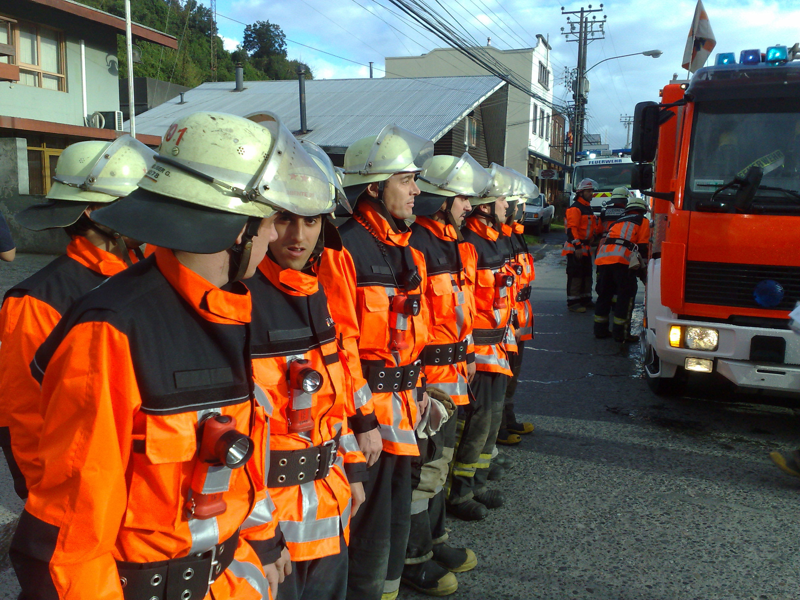 Fire department in Puerto Varas